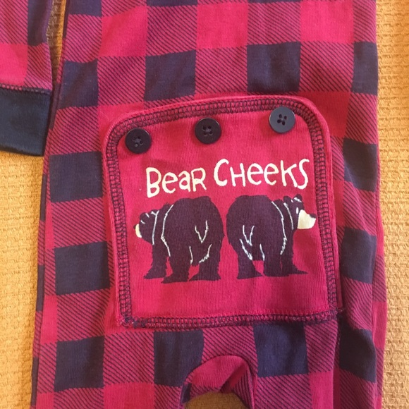 FLAPJACK Other - FLAPJACK baby buffalo plaid pjs